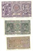 Khadi Village Commission Lot 2-5-10 Rupees 1955 .S. - India