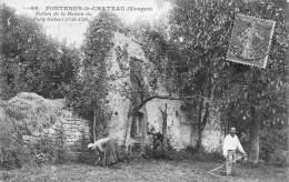 Fontenoy Le Château    88      Ruines De La Maison Du Poète Gilbert     ( Voir Scan) - France
