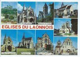 CP LAON, CREPY EN LAONNOIS, ND DE LIESSE , ROYAUCOURT, NOUVION LE VINEUX, MONS EN LAONNOIS, PRESLES, VORGES, AISNE 02 - Unclassified