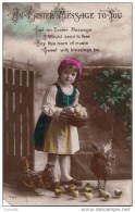 C1900 AN EASTER MESSAGE TO TOU - AMERICAN POSTCARD - Easter