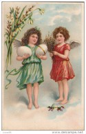 C1900 HAPPY EASTER- GERMAN POSTCARD - Easter