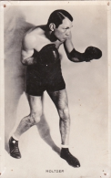 BOXE - HOLTZER  CHAMPION  DU MONDE POIDS PLUME - Boxing