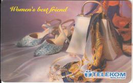 "MALAYSIA(chip) - Women""s Best Friend, Telecom Malaysia Telecard RM10, Used - Malaysia"