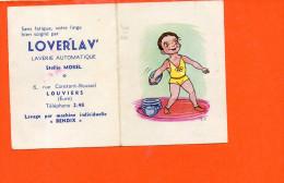 Petit Calendrier - 1965 - LOUVIERS - Publicité LOVERLAV Rue Constant Roussel - Stellio Morel - Calendriers