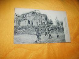 CARTE POSTALE ANCIENNE CIRCULEE DE 1918. / 1074. LA GRANDE GUERRE 1914-17 / RUINES DE L'EGLISE DE VIRGINY (MARNE). - Other Municipalities