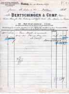 LENZBURG--15-10-1889-BERT SHINGER - Schweiz