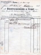 LENZBURG--6-9-1859-BERT SHINGER - Schweiz