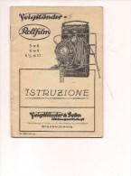 $3-4038 Fotografia Istruzioni VOIGHTLANDER 24 Pagine Illustrazioni. - Materiale & Accessori