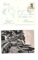 $3-4051 B 1958 GARIBALDI £15 ISOLATO ANNULLO PIROSCAFO MOTONAVE TRAGARA CAPRI. - 6. 1946-.. Repubblica