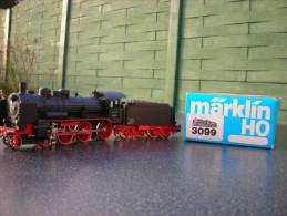 HO Marklin Locomotive Vapeur Série 38 De La DR Type 230 Corps Métallique - Locomotives