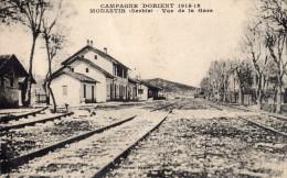MONASTIR VUE DE LA GARE CAMPAGNE D'ORIENT 1914-1918 - Serbie