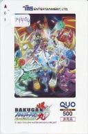 Carte Prépayée Japon * MANGA *  * ANIMATE * ANIME (14.404) Movie Japan Prepaid Card Karte - Kino