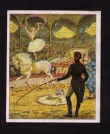 """Image """" Deutsche Kultur Bilder """", 1934, Sammelwerk N°9, Bild N°241, Gruppe 34, Cirque, Cavalière - Au Bon Marché"""