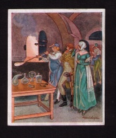 "Image "" Deutsche Kultur Bilder "", 1934, Sammelwerk N°9, Bild N°198, Gruppe 38, Souffleur De Verre - Au Bon Marché"