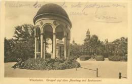 WIESBADEN - Tempel Auf Dem Neroberg Mit Restaurant - Wiesbaden