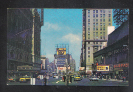 UNITED STATES  - TIME SQUARE  1950s  POSTCARD - Time Square