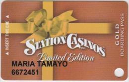 CASINO CARD - 022 - USA - STATION CASINOS