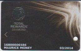 CASINO CARD - 035 - USA - TOTAL REWARDS DIAMOND