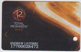 CASINO CARD - 037 - USA - TOTAL REWARDS GOLD