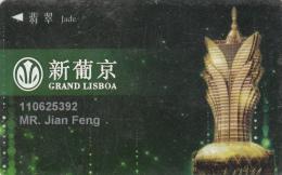 Grand Lisboa Hotel & Casino -Member Card - Macau