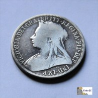 Gran Bretaña - 1 Florín - 1896 - 1816-1901: 19. Jh.