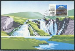 Iceland Waterfalls Maxicard - Cartoline Maximum