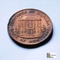 Canada - 1/2 Penny - 1844 - Canada
