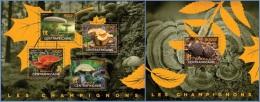 ca14525ab Central African 2014 Mushroom 2 s/s