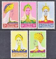 ETHIOPIA  415-9  *   PRINCESSES - Ethiopia