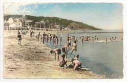14 - VILLERS-sur-MER - La Plage - Ed. Chantal N° 1413/151 Colorisée - 1960 - Villers Sur Mer