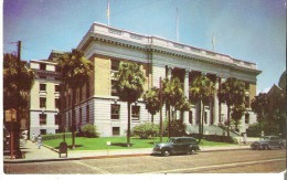 Post Office Building, Tampa, Florida  Vintage cars