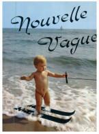 (ORL 25) Naked Boy Doing Water Ski - Ski Nautique Et Enfant Nue - Sci Nautico