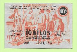 Billet Matière Réf M0 8-10 - Notgeld