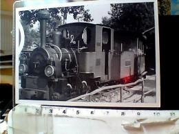 FOTO  8 X 11 LOCOMOTIVA EX GIULIANI TRENO  TRAIN  FERROVIA RIMINI MIRAMARE 1950? EO10793 - Treni