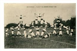CPA  51   :  MONTMIRAIL  Fête De La Gymnastique Avec La Jeanne D'Arc   1921  A  VOIR  !!!!!!! - Montmirail