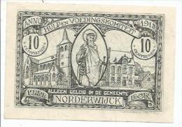 Norderwijck. Hulp-en Voedingskomitee 1915. - Documents Historiques
