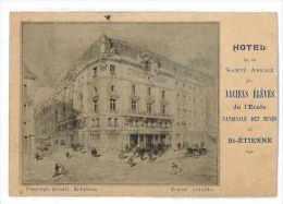 CPA 42 HOTEL DE LA SOCIETE AMICALE DES ANCIENS ELEVES DE L'ECOLE NATIONALE DES MINES DE SAINT ETIENNE - Saint Etienne