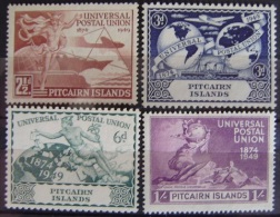 ISLAS PITCAIRN - IVERT 13/16 NUEVOS SIN GOMA - UNION POSTAL UNIVERSAL ( U.P.U ) - UPU (Union Postale Universelle)
