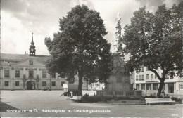 STOCKERAU N.O. RATHAUSPLATZ M. DREIFALTIGKETISSAULE - Stockerau