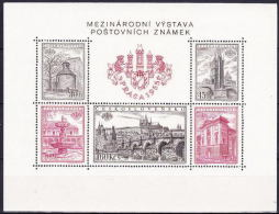 ** Tchécoslovaquie Mi Bl.16 A (Yv BF 19), (MNH) Type IV - Blocks & Sheetlets