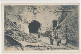 MILITAIRE Belgique Loncin Intérieur Du Fort 1914  Animée - Reggimenti