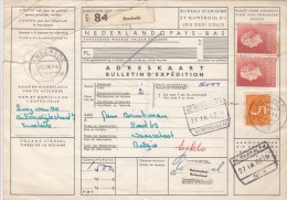 Pakketkaart 25 Sep 1962 Enschede (typerader Korte) - Poststempels/ Marcofilie