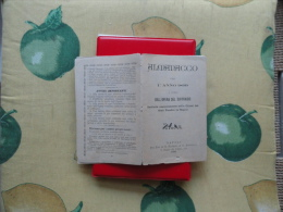 1899 Almanacco Opera Del Suffragio Napoli Chiesa Gesù Vecchio - Calendari