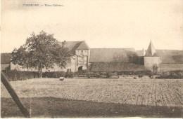 Pondrome Vieux Chateau Desaix Tres Bon Etat Verso Relais De Pondrome 1921 - Beauraing