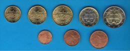 ESLOVAQUIA -  Serie EUROS 2009 SC  8 Valores - Eslovaquia