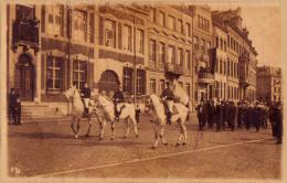 cort�ge d�fil�  procession  � MALMEDY    carte photo