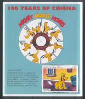 Mzr572b WALT DISNEY PLUTO AND THE FLYPAPER FILM CINEMA HONDEN DOGS MAMMALS HUNDE CHIENS PERROS MALDIVES 1996 PF/MNH - Disney