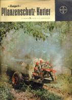 Magazine Krant Tijdschrift Gazette Pflanzenschutz Kurier - Bayer - Nr 6 - 1958 - Revues & Journaux