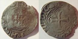Sud Ouest Aquitaine Gironde Bordeaux 1498 Sizain Ou Petit Blanc à La Couronne (aux Couronnelles) Louis XII - RARE - 987-1789 Monnaies Royales