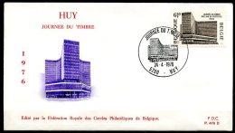 BE   FDC  1803   ---   Journée Du Timbre  --  Obl. Huy - FDC